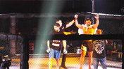 Международный турнир по смешанному боевому единоборству (ММА) прошел в Уссурийске