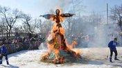 Масленица: в Уссурийске попрощались с зимой