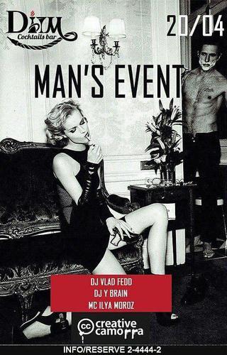 Man`s event