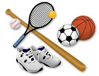 Соревнования по футболу и легкой атлетике