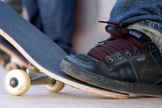 Фестиваль скейтеров (показательные выступления)