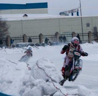 3 этап Первенства ДВ по мотогонкам на льду