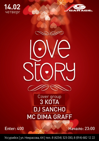 LOVE  STORY  PARTY