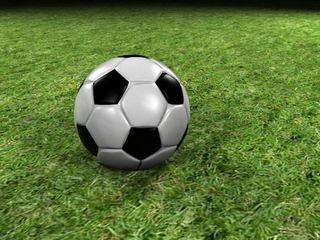 Матч по футболу в рамках Открытого турнира памяти Алексеева Э. А.