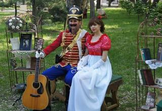 Пушкинский бал прошёл  в городском парке  Уссурийска