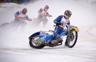 Открытый Чемпионат Приморского края по мотогонкам на льду