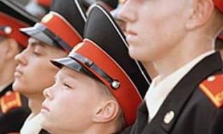 Торжественная церемония 70-го выпуска суворовцев