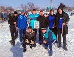 В Уссурийске команда транспортной полиции взошла на пьедестал турнира по мини-футболу