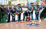 Митинг, посвященный 71-ой годовщине Победы в ВОВ, состоялся в Уссурийске