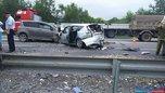 В Приморье произошла массовая авария из-за сердечного приступа водителя