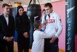 Дети из Уссурийского реабилитационного центра  побывали в гостях у спортсменов