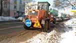 Снегоуборочная техника готова приступить к расчистки дорог в Уссурийске