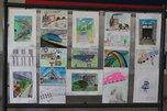 ЛРЗ открыл выставку детских рисунков на железнодорожном вокзале Уссурийска