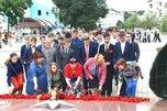 В честь окончания Второй мировой войны в Уссурийске состоялось памятное возложение цветов