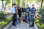 В Уссурийске полицейские и члены ДНД приняли участие во Всероссийской акции «Зелёная Россия»
