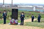 У мемориала в поселке Черняховском состоялся митинг