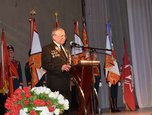 В преддверии Дня Великой Победы в Доме офицеров Уссурийского гарнизона состоялось торжественное собрание
