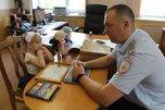 В полиции 6-летней Лизе из Уссурийска вручили диплом за куклу Поли