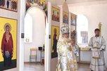 В Уссурийске храм в честь Всех святых во всем мире принял первых прихожан