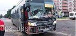 Жёсткое ДТП с автобусом и иномаркой произошло в Уссурийске