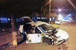 Молодой лихач разбился в полуночной аварии