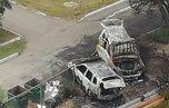 Миллионы сгорели около подъезда дома в Уссурийске