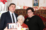 Жительницу Уссурийска поздравили со 100-летним юбилеем