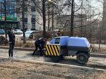 На дорогах Уссурийска стартовал ямочный ремонт
