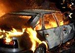 Автомобиль сгорел ночью в Уссурийске