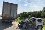 На трассе Уссурийск-Владивосток мини-джип столкнулся с фурой