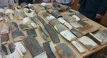67 фрагментов бивней мамонта передала в музей Уссурийская таможня