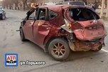 Водитель «огненного» спорткара устроил массовое ДТП в Приморье, есть пострадавший