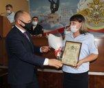 Заместитель начальника УМВД Приморья Евгений Долматов посетил отдел МВД России по городу Уссурийску