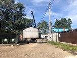 Во дворе дома на улице Ермакова ликвидировали незаконные гаражи