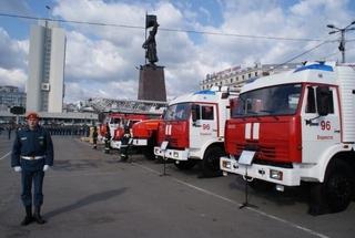 Автопарк пожарной техники модернизируют в Приморье на 60% в 2013 году