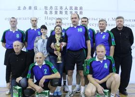 Волейбольные команды Уссурийска и Муданьцзяна встретились в дружеском поединке