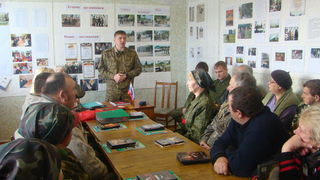 Учёба членов добровольной народной дружины прошла в селе Алексей-Никольском