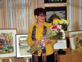 Выставка «Акварельные зарисовки» работает в Центре народного творчества