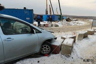 Реконструкция участка трассы М60 «Уссурийск - Владивосток» создает неудобства для водителей