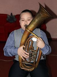 Конкурс игры на духовых инструментах «Юный музыкант» прошёл в Новоникольске