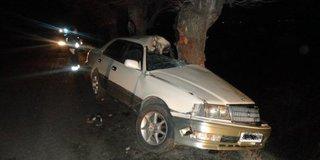 20-летний водитель под Уссурийском, врезавшись в дерево, впал в кому