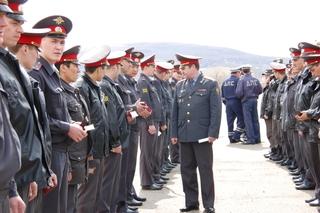 Полицейские Уссурийска перешли на летнюю форму одежды