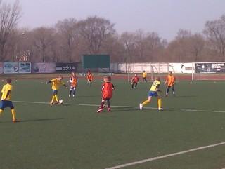 Юноши «Мостовика-Приморье» из Уссурийска одержали победу над командой «Луч-Энергия»
