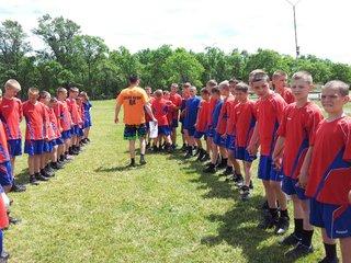 """Мероприятие """"Спорт - против наркотиков"""" состоялось в Уссурийском суворовском военном училище"""