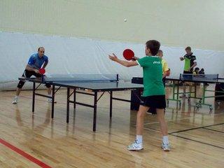 Турнир по настольному теннису прошёл в Уссурийске
