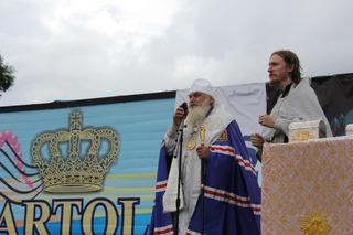 Десятки жителей Уссурийска крестили на водохранилище 25 июля
