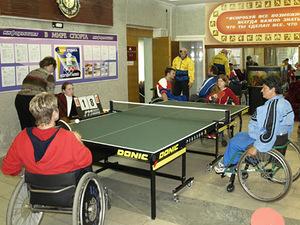 Команда инвалидов из Уссурийска достойно выступила на краевых соревнованиях