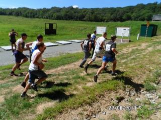 Сотрудники Уссурийской оперативной зоны стали призерами чемпионата по биатлону