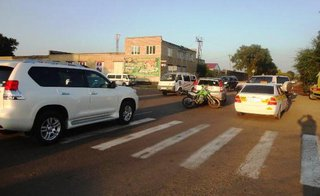 Мотоциклист без прав устроил ДТП в Уссурийске