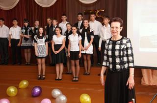 75-летний юбилей отметила средняя школа № 14 г. Уссурийска